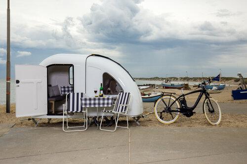 Wohnwagen für das Fahrrad